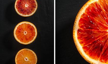 photographie culinaire orange sanguine. Black Bedroom Furniture Sets. Home Design Ideas