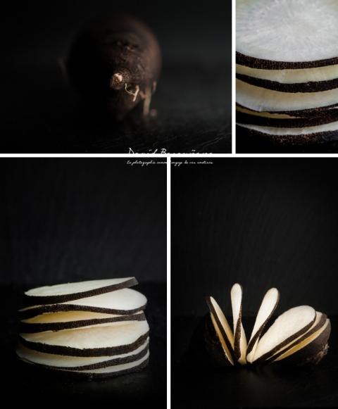 PHOTOGRAPHIE CULINAIRE SAINT REMY DE PROVENCE RADIS NOIR PHOTO CULINAIRE ARLES FOOD ART