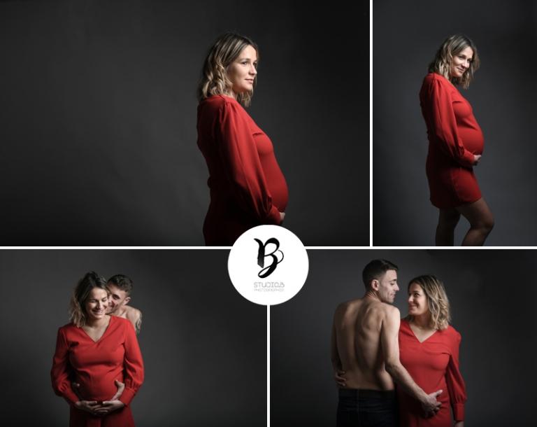 PHOTO GROSSESSE ARLES PHOTOGRAPHE FEMME ENCEINTE BEAUCAIRE STUDIO B