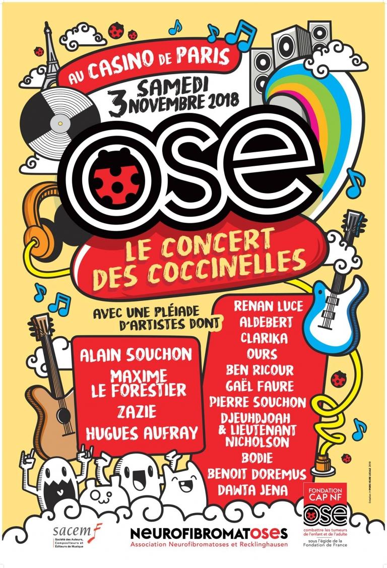 Concert neurofibromatose PARIS 2018