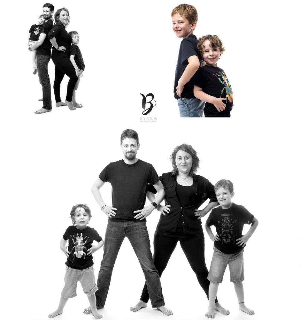 Shooting famille une seance photo au STUDIO B