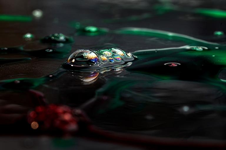 Photographe texture cosmétique