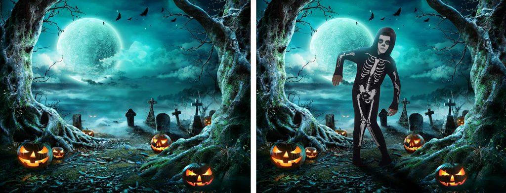 Les séances photo Halloween du Studio B