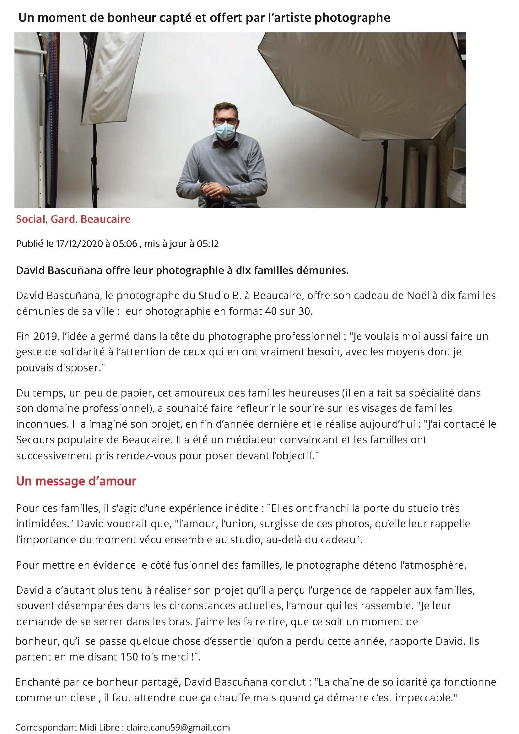 Studio B photographe beaucaire