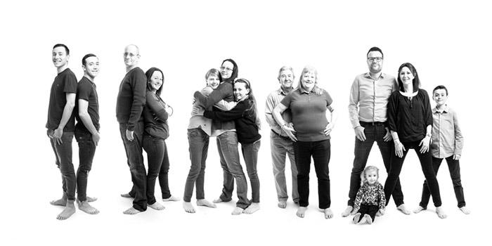 photographe famille nombreuse studio b beaucaire