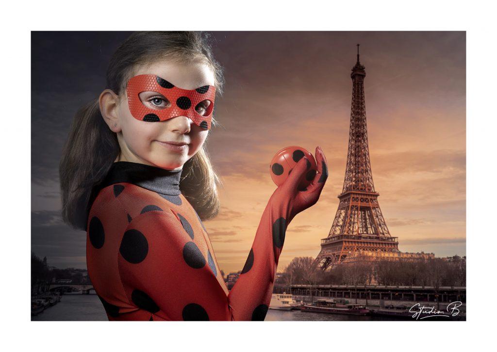 seance photo super héros ladybug miraculeuse studio photo beaucaire
