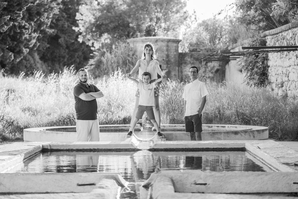 seance photo en famille à uzès